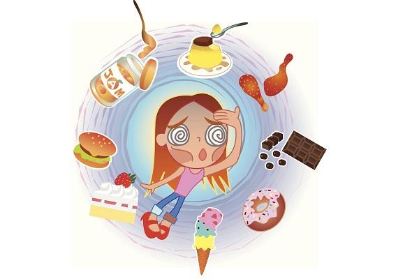 無理な糖質制限のイメージ